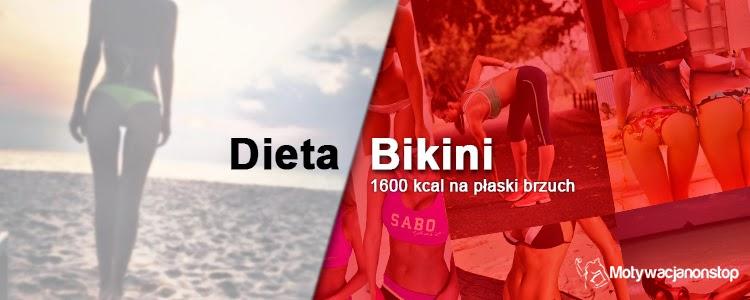 dieta bikini 1600 kcal na płaski brzuch