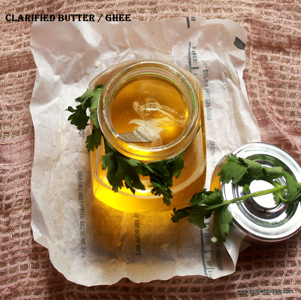 Home made Ghee Recipe