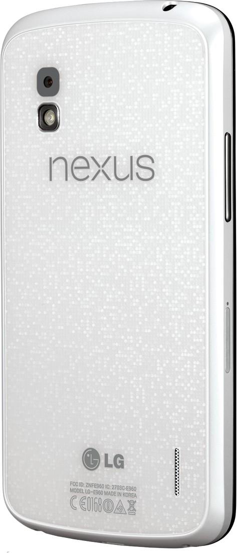 LG Mobile Officially Announces White Nexus 4