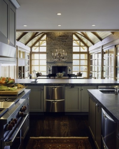 Rustic Modern Kitchen Gorgeous Of Modern Rustic Kitchen Images
