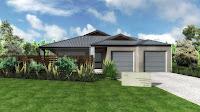 Diseño de fachada de casa con garaje para 2 carros, autos o coches