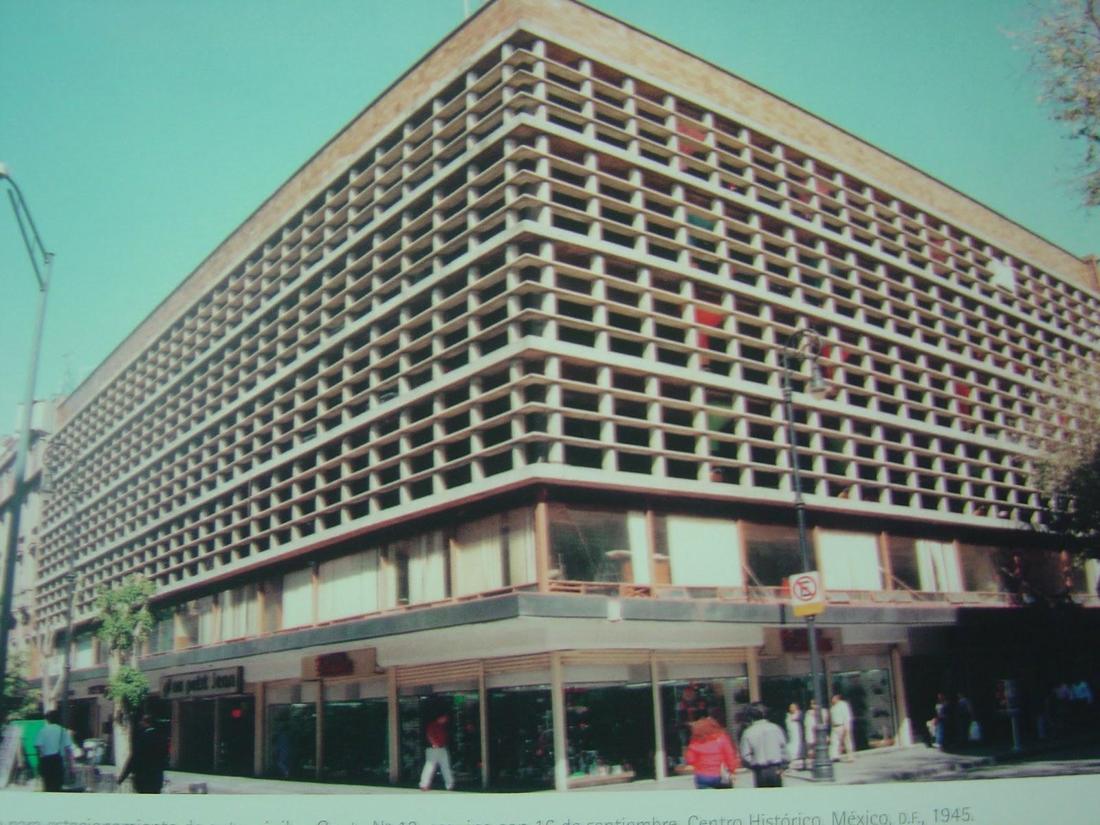 Obras arquitect nicas de jos villagr n garc a elementos for Obras arquitectonicas