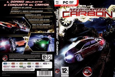 Jogo Need For Speed Carbon PC DVD Capa