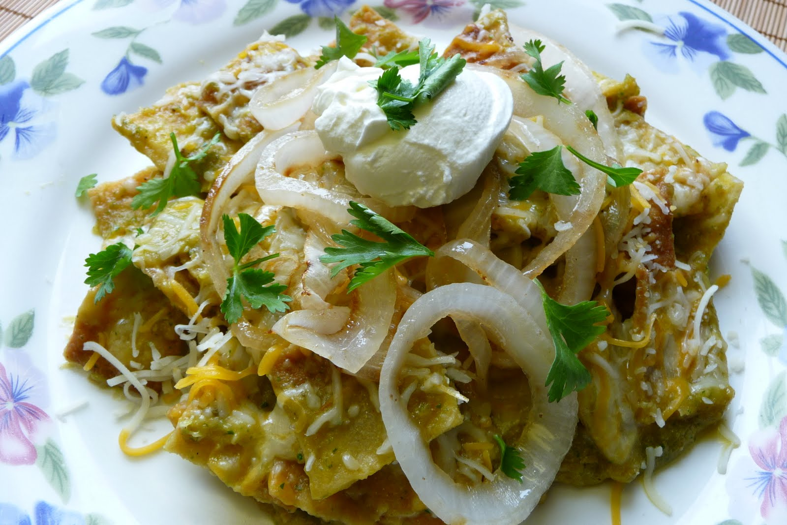 Chilaquiles is one of my favorite Mexican dishes...is really easy to ...