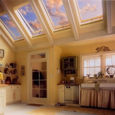 Casa com claraboia
