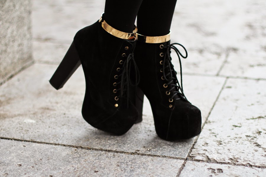 berlin fashion week street style myberlinfashion gold shoes litas jeffrey campbell schwarz