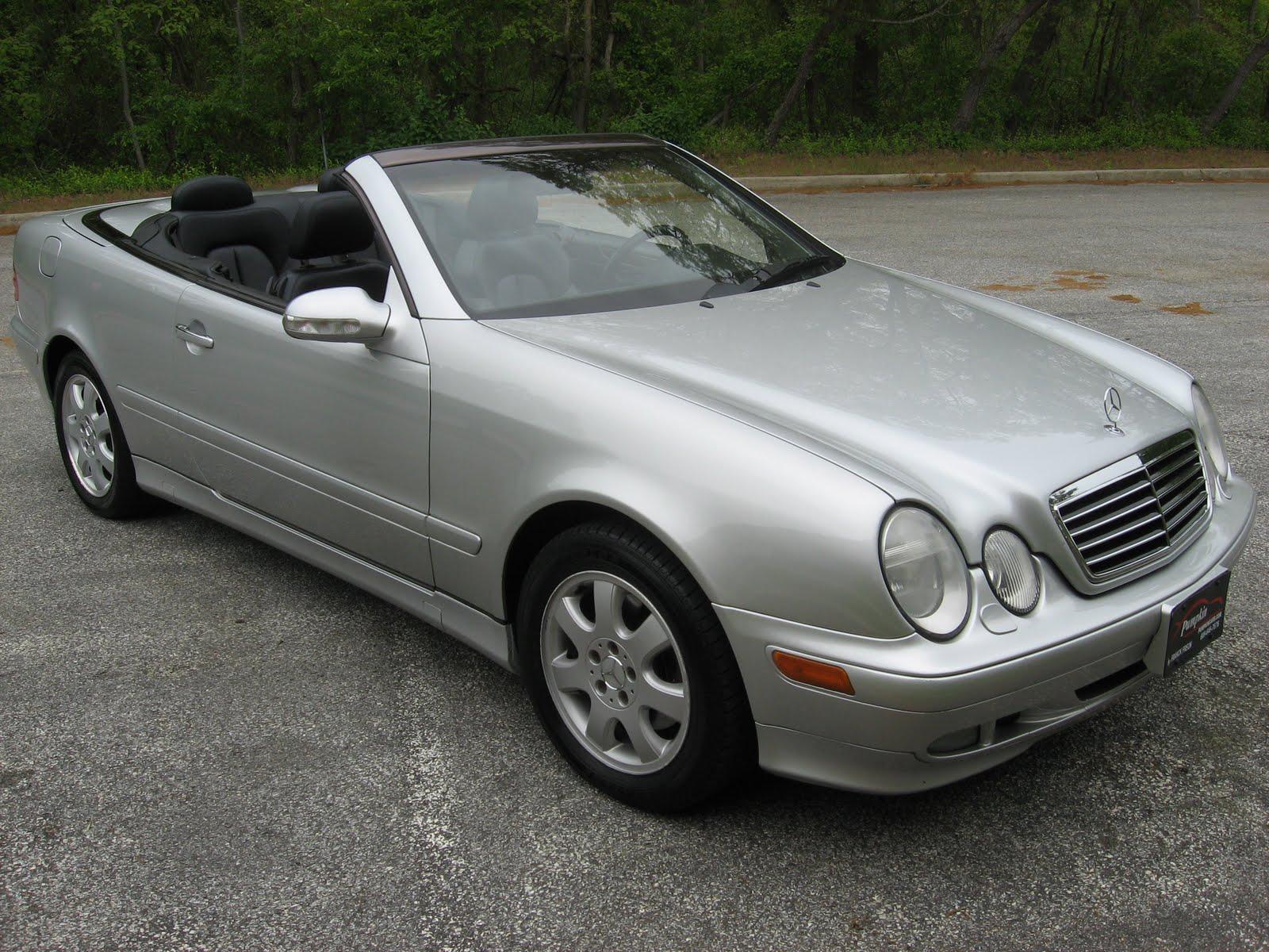 Pumpkin fine cars and exotics 2003 mercedes benz clk320 for 2003 mercedes benz clk 320