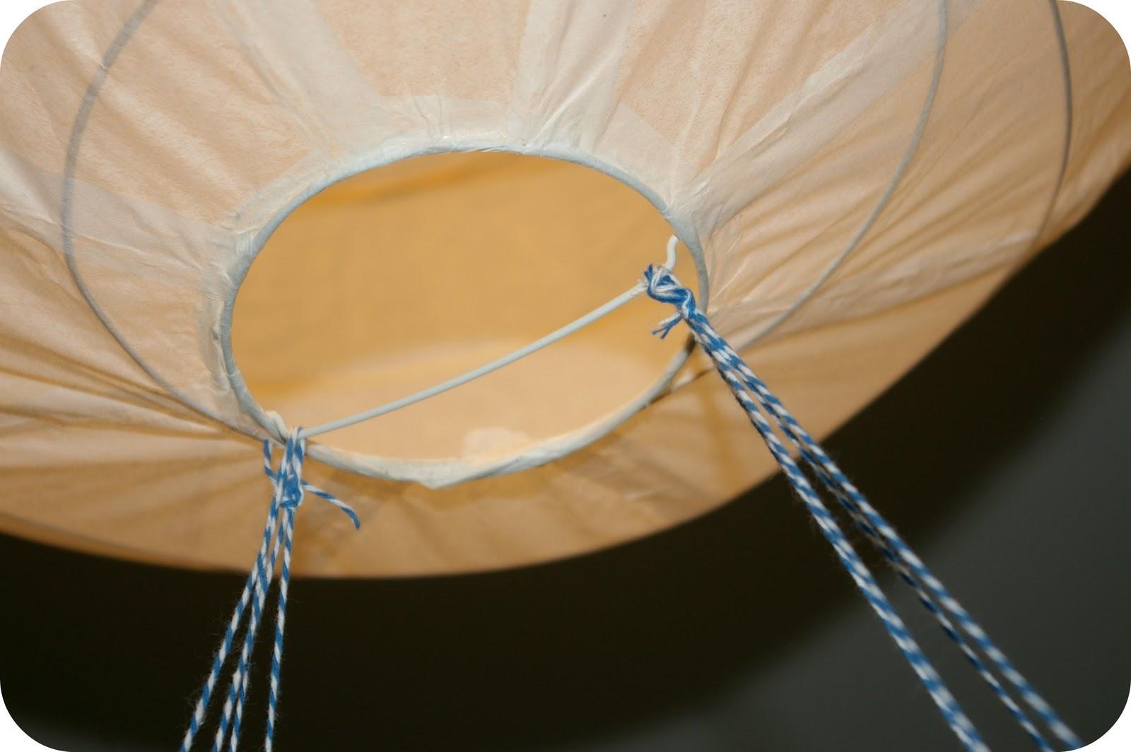 Jerrys Welt: DIY Heißluftballon-Lampe