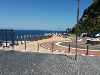 San Sebastian ciclabile sull'oceano fotografata da Brunello