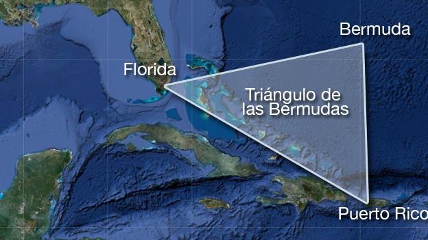 desaparicion en el triangulo de las bermudas: