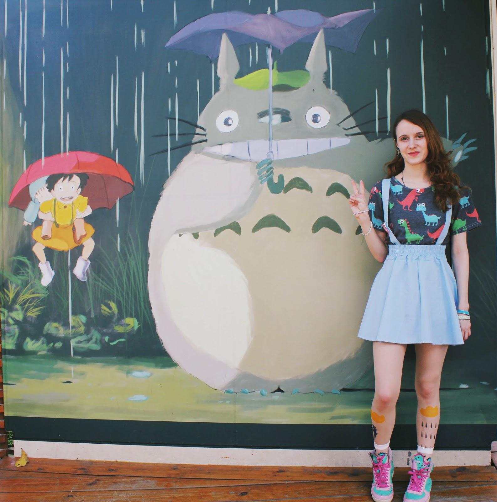 Hualian Taiwan Totoro OOTD dinosaurs japanese fashion