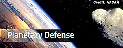 NASA's New Planetary Defense Office Protecting Earth