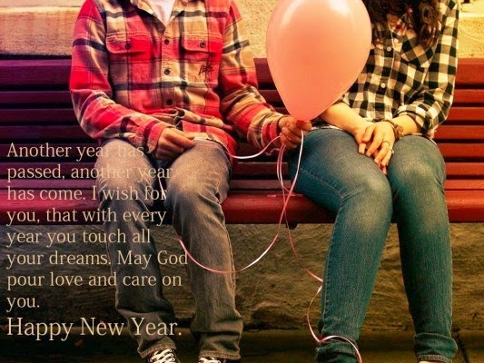Happy New Year Greetings for Wife 2016