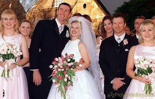 Glenn Mcgrath and wife Jane wedding Photo