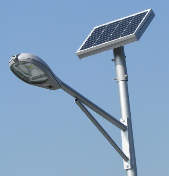 Everblue postes solares led - Focos led solares ...
