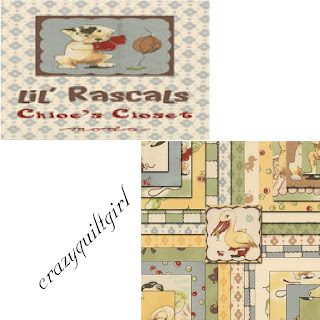 Moda LIL RASCALS Quilt Fabric by Chloe's Closet