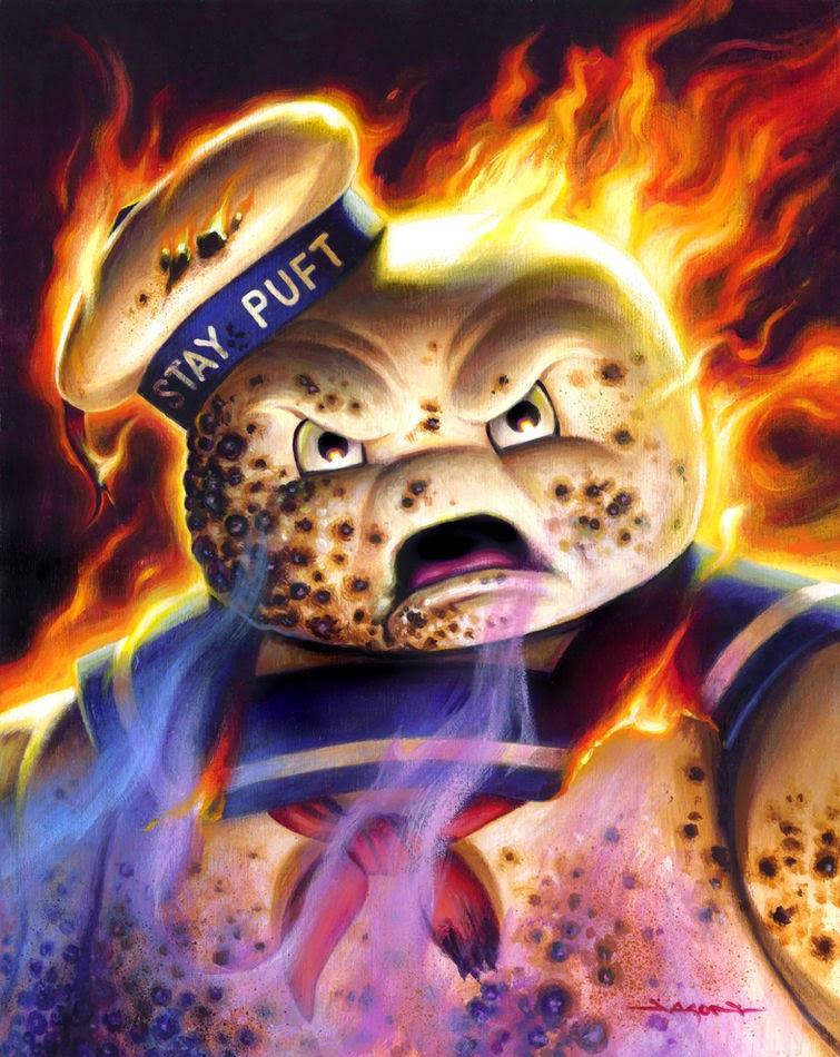 Mr. Staypuft on Fire