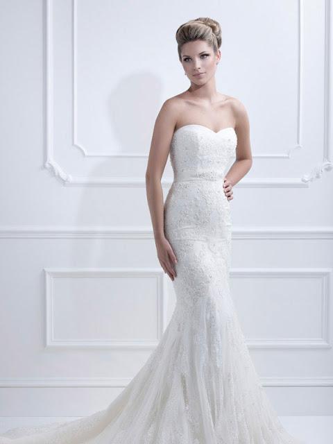 Ellis wedding dresses 2013  mermaid
