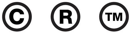 Arti dan Perbedaan Trademark™, Copyright© dan Trademark®