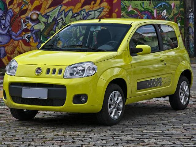 INMETRO 2012: carros mais econômicos do Brasil - Fiat Uno EVO 2012