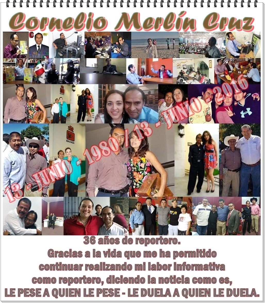 GRACIAS POR 36 AÑOS DE LABOR INFORMATIVA.