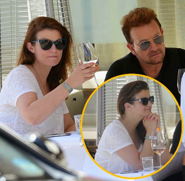 The 54-year-old was his lunch date at London on Friday, July 4, 2014, and it's his adorable niece of beauty girl that looked like half of his age.