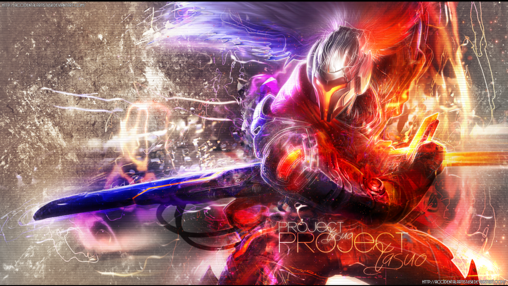 wallpaper yasuo lol
