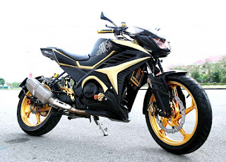 Modifikasi Simple Yamaha New Vixion Lighthing