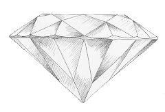 We are all diamonds, but in different shapes. Still beautiful.