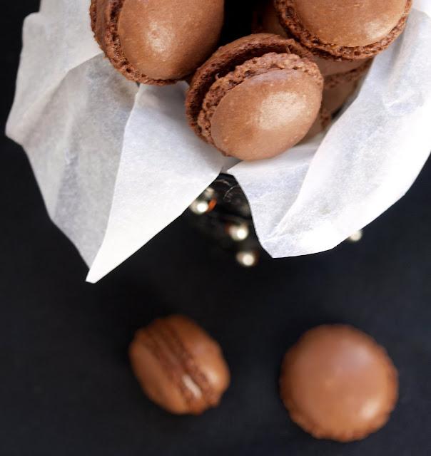 Cómo hacer macarons de chocolate