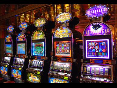 Fristående slot machine