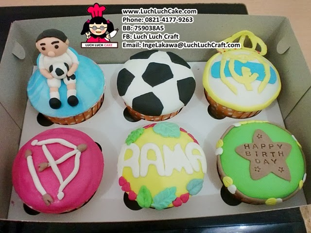 Cupcake Real Madrid Daerah Surabaya - Sidoarjo