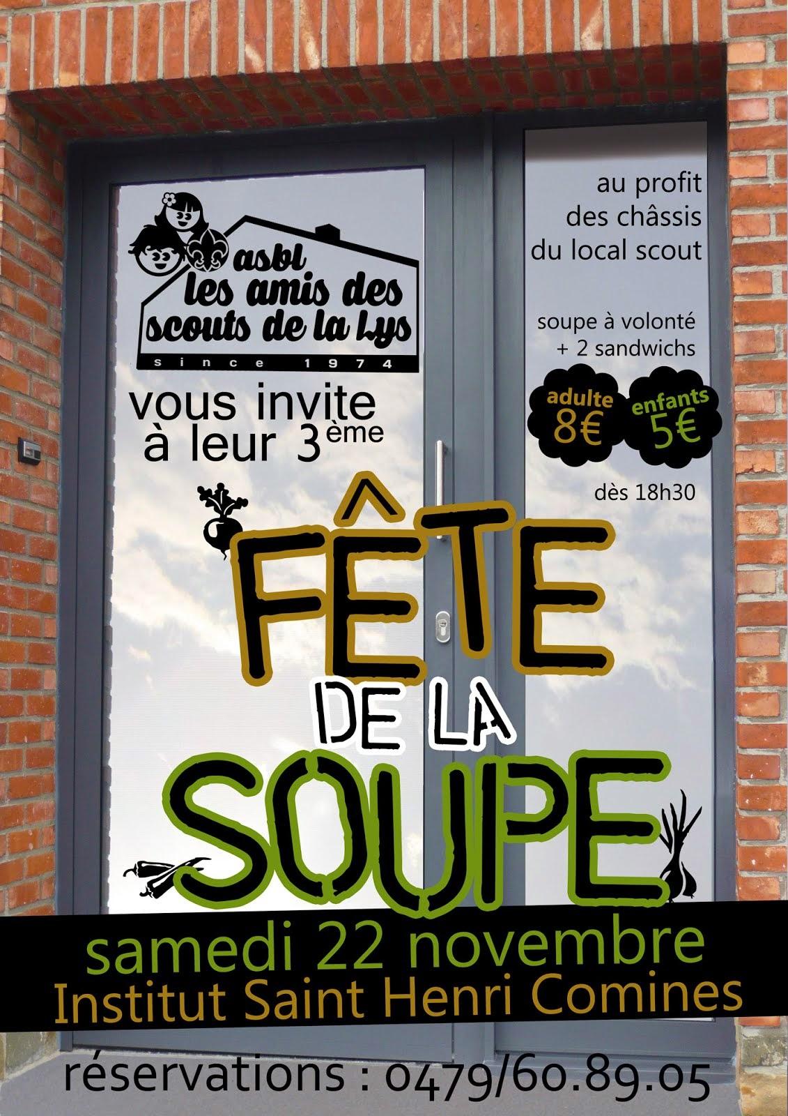 22 NOVEMBRE 2014 FÊTE DE LA SOUPE