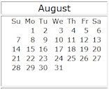 August 2011 events