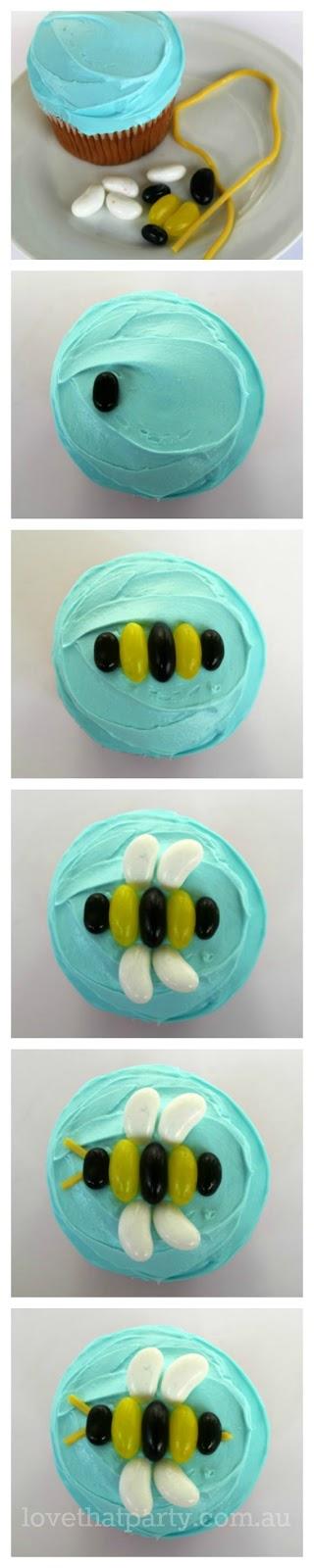 simple, bee cake, tutorial, bee party, simple birthday cake, diy