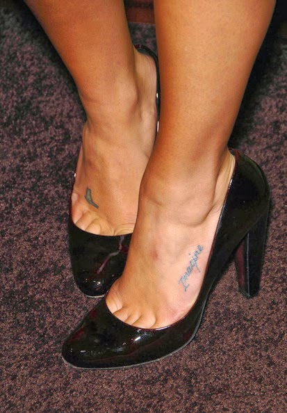 Music Notes Tattoos on Foot Music Note Tattoo on Foot
