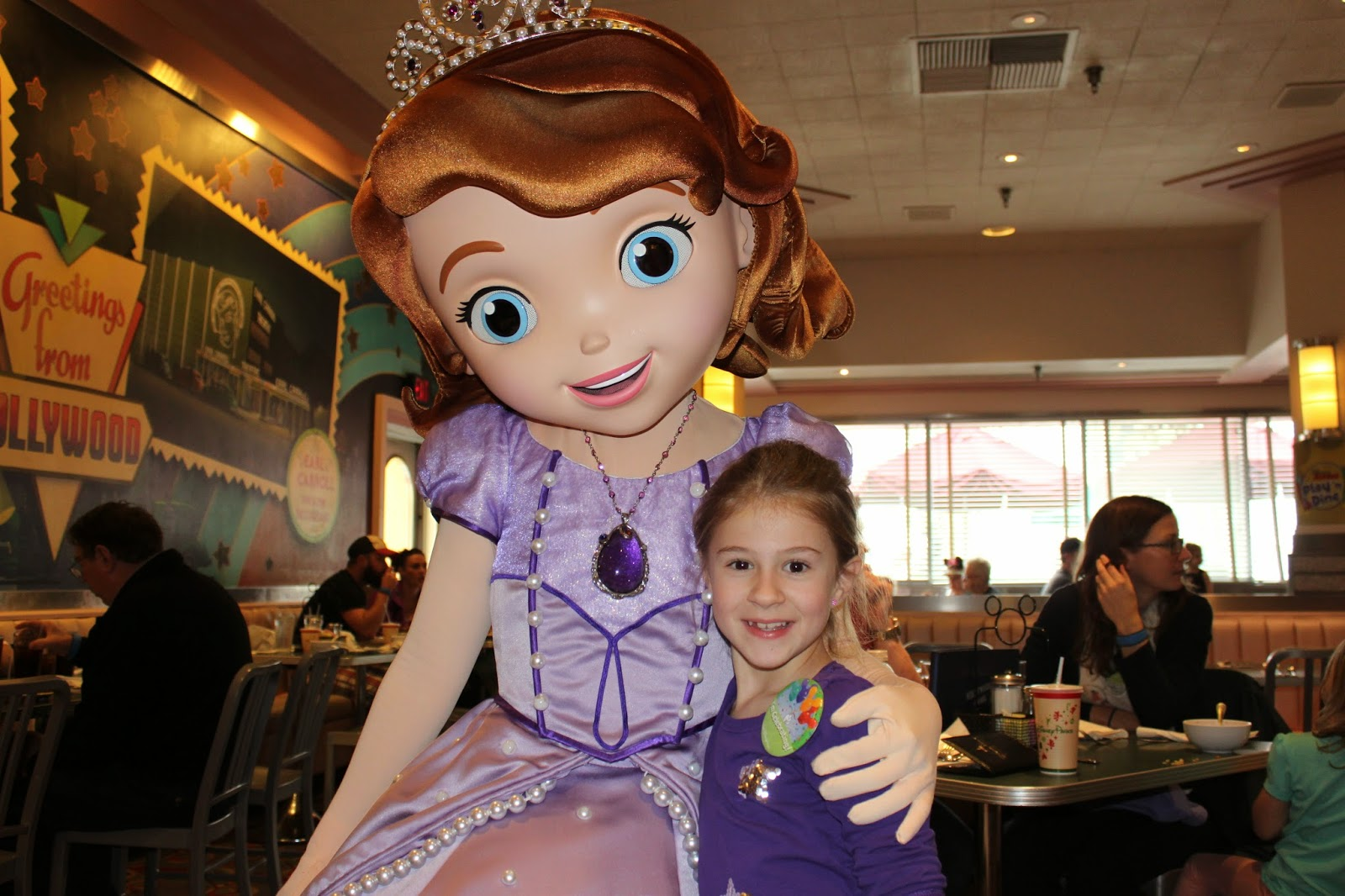 Organized confusion i bet you thought i forget about my blog what more can two little girls ask for than dining with their best disney junior pals brynn was stunned when she met doc mcstuffins kristyandbryce Images