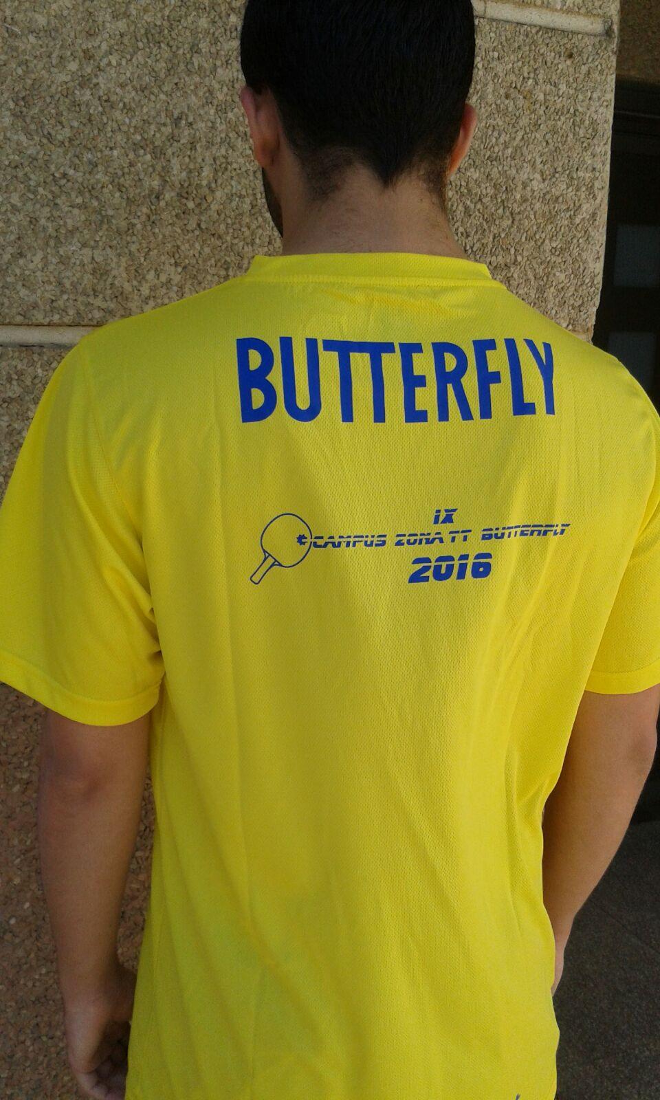Camisetas Campus ZonaTT-Butterfly 2016
