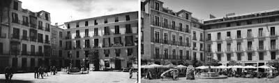 Málaga: Plaza del Obispo 1940-2011