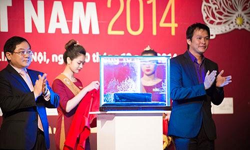 Vương miện mới của Hoa hậu Việt Nam trị giá 2,5 tỷ đồng
