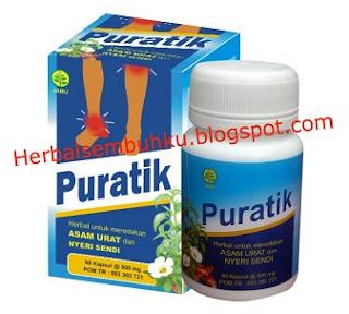 PURATIK | jual obat herbal asam urat Surabaya | jual obat herbal nyeri sendi di Surabaya