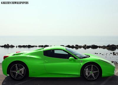 sunday january 4 2015 ferrari 458 spider - Ferrari 458 Spider Green