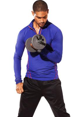 camisetas de deporte mangas largas para hombre