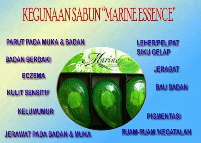 Sabun Marine Essence Untuk Kulit Cantek Sehat