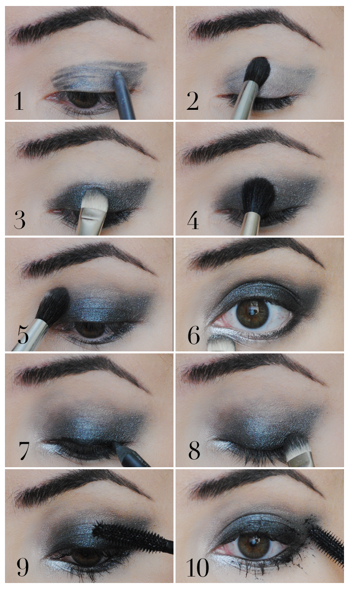 makeup tutorial, grunge makeup, how to do grunge makeup