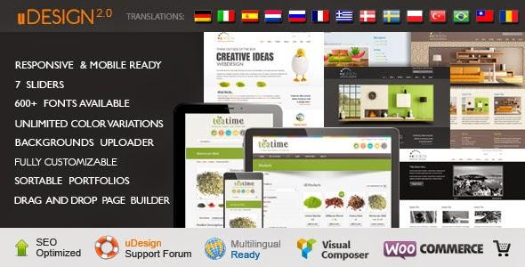 Download ThemeForest uDesign - Responsive WordPress Theme for free.