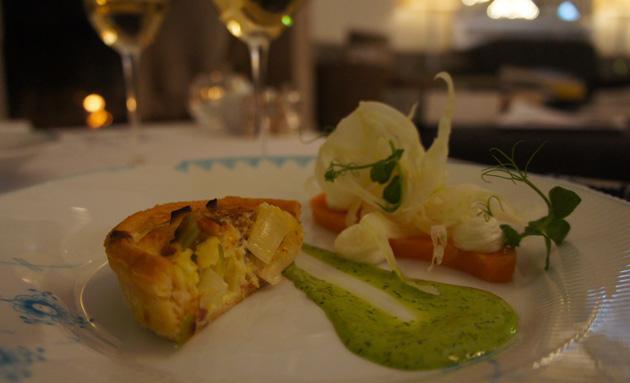 Nimb luxury brunch copenhagen foodmad the english for Luxury quiche