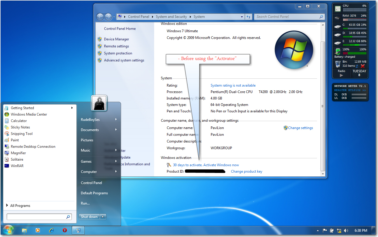 Windows 7 Ultimate 32 Bit Activator Free Download 5