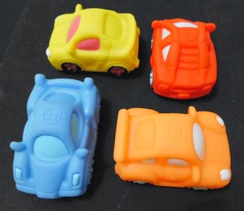 Mainan Mobil Karet Bunyi