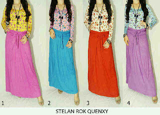 Stelan Rok Quenxy fit to L